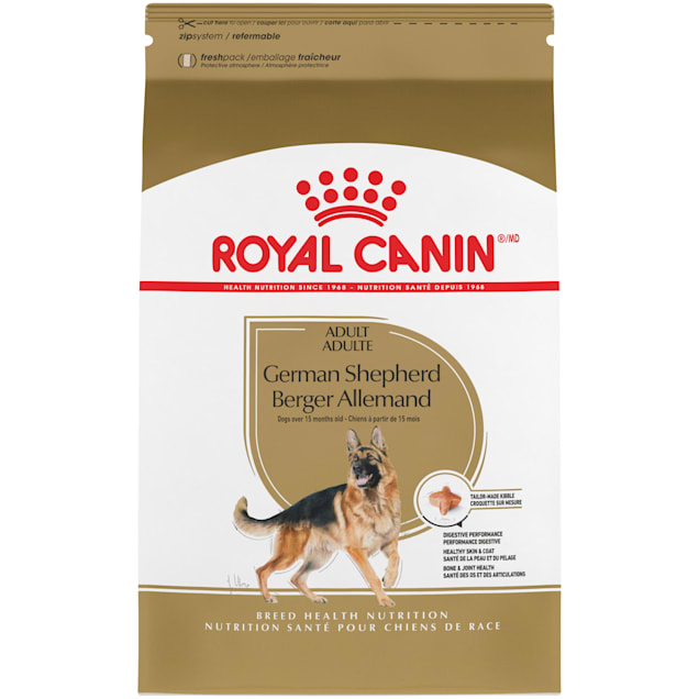 Royal Canin Breed Health Nutrition German Shepherd Adult Dry Dog Food, 30 lbs. - Carousel image #1