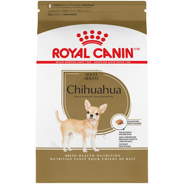 Royal Canin Breed Health Nutrition Chihuahua Adult Dry Dog Food, 10 lbs. - Carousel image #1