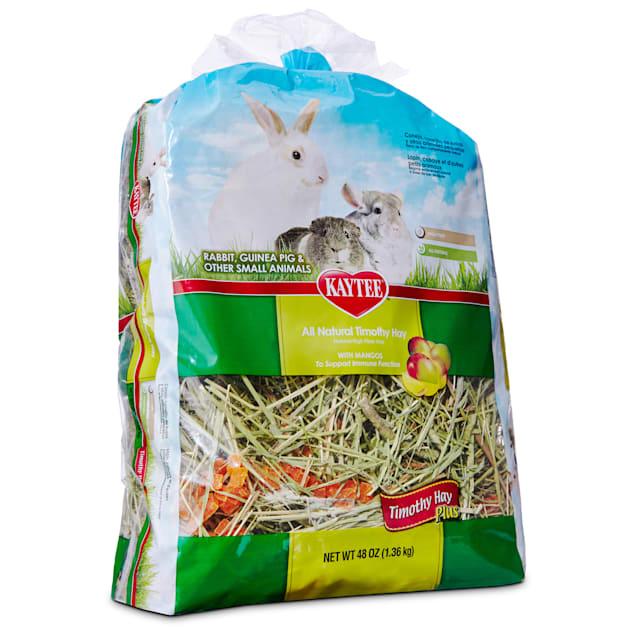 Kaytee All Natural Timothy Hay with Mango for Rabbits & Small Animals, 48 oz. - Carousel image #1