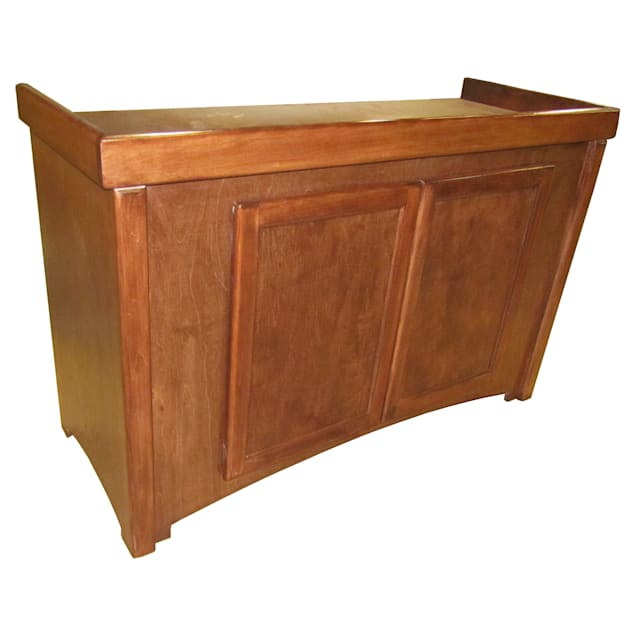 R&J Enterprises 48x13 Cherry Birch Calypso Cabinet - for 55 Gallon Glass Aquariums - Carousel image #1
