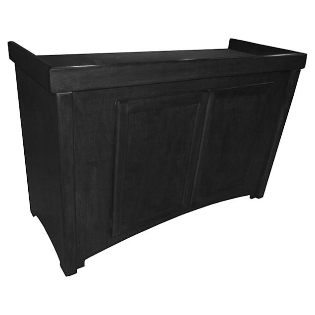 R&J Enterprises 48x18 Black Calypso Birch Cabinet - for 75, 90, and 110 Glass Aquariums - Carousel image #1