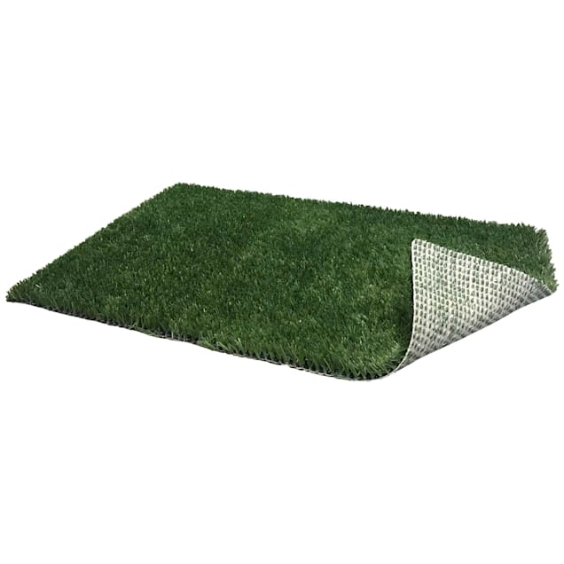 "PoochPads Indoor Dog Potty Replacement Grass, 23"" L X 15"" W X .5"" H - Carousel image #1"