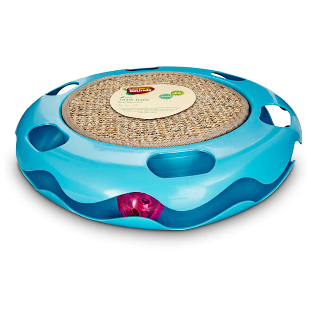 Leaps & Bounds Cat Track Cat Toy with Sisal Mat - Carousel image #1