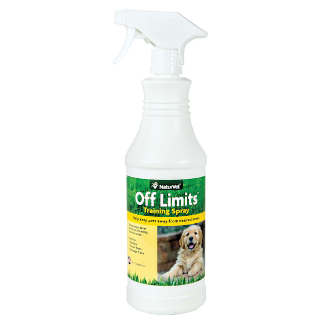 NaturVet Off Limits Dog Training Spray, 32 fl. Oz. - Carousel image #1