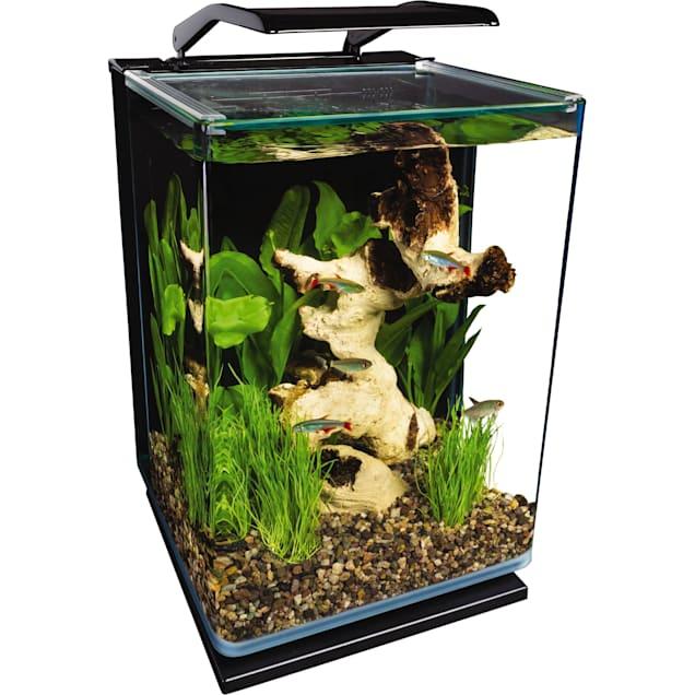 Marineland 5 Gallon Portrait Glass LED Aquarium Kit - Carousel image #1