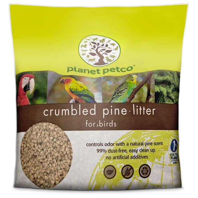Planet Petco Crumbled Pine Bird Litter, 10 lbs. - Carousel image #1