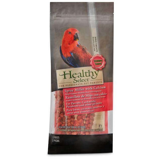 Healthy Select Spray Millet Strawberry Bird Treats, 2 oz. - Carousel image #1