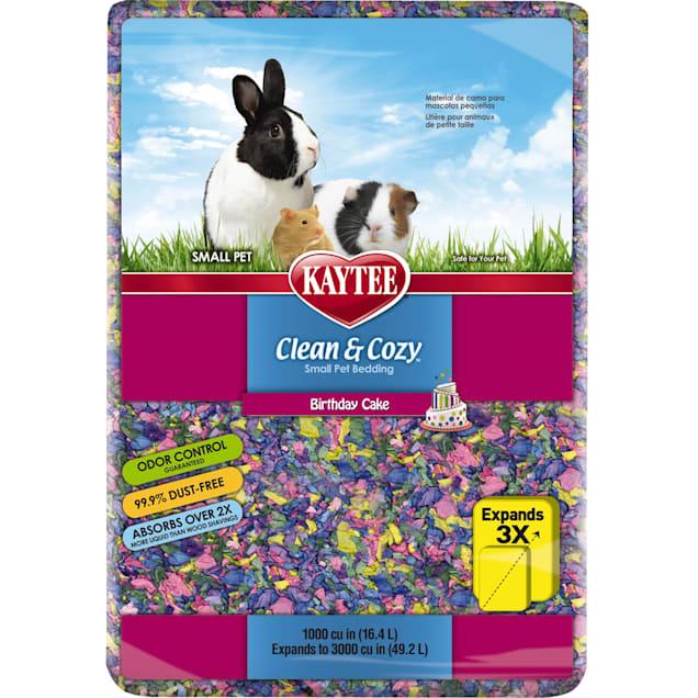 Kaytee Clean & Cozy Birthday Cake Small Animal Bedding, 49.2 Liters (3000 cu.in.) - Carousel image #1