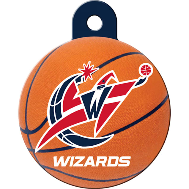 Quick-Tag Washington Wizards NBA Circle Personalized Engraved Pet ID Tag - Carousel image #1