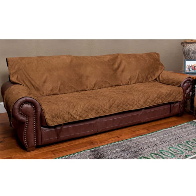 Solvit Sofa Full Coverage Cocoa Furniture Protector - Carousel image #1
