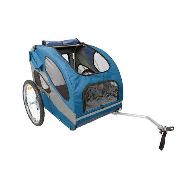 PetSafe Happy Ride Aluminum Dog Bicycle Trailer, Large - Carousel image #1