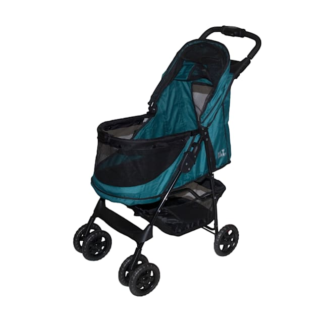 Pet Gear Happy Trails No-Zip Emerald Pet Stroller, For pets up to 30 lbs. - Carousel image #1