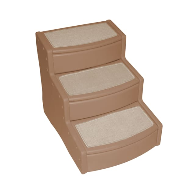 Pet Gear Extra Wide Tan Easy Step III Pet Stairs, For Pets up to 200 lbs. - Carousel image #1