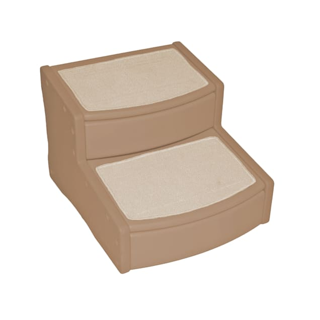 Pet Gear Extra Wide Tan Easy Step II Pet Stairs, For Pets up to 200 lbs. - Carousel image #1