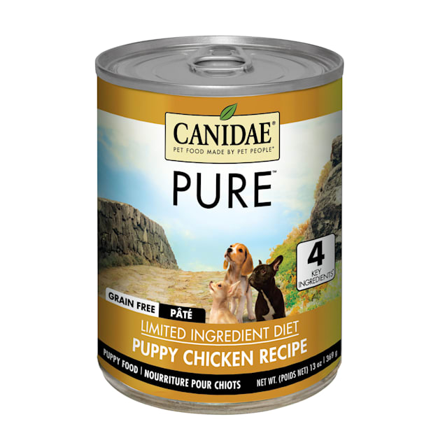 CANIDAE PURE Grain Free Chicken Wet Puppy Food, 13 oz., Case of 12 - Carousel image #1