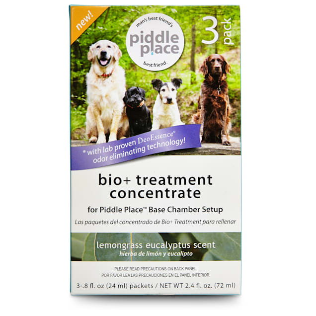 Piddle Place Bio+Treatment Concentrate Base Chamber Setup, Pack of 3 -.8 fl oz. - Carousel image #1