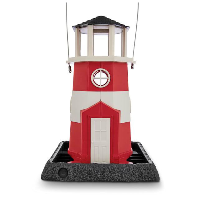 "North States Shoreline Lighthouse Bird Feeder, 10"" L X 9"" W X 15"" H - Carousel image #1"