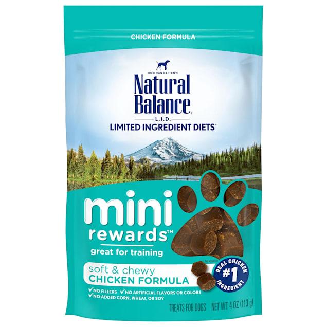 Natural Balance Mini Rewards Chicken Formula Dog Treats, 4 oz. - Carousel image #1
