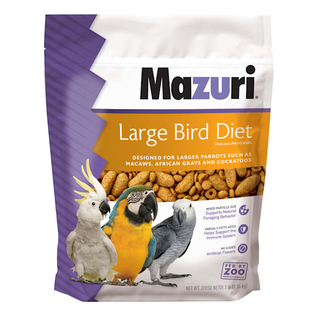 Mazuri Large Bird Food, 3 lbs. - Carousel image #1