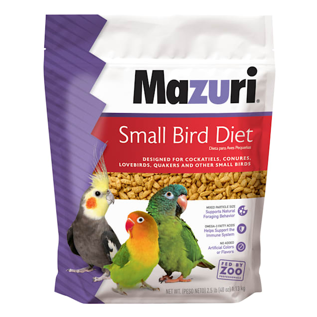 Mazuri Small Bird Food, 2.5 lbs. - Carousel image #1
