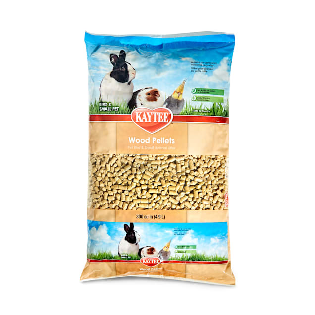 Kaytee Wood Pellets Bird & Small Animal Litter, 4.9 Liters (300 cu. in.) - Carousel image #1