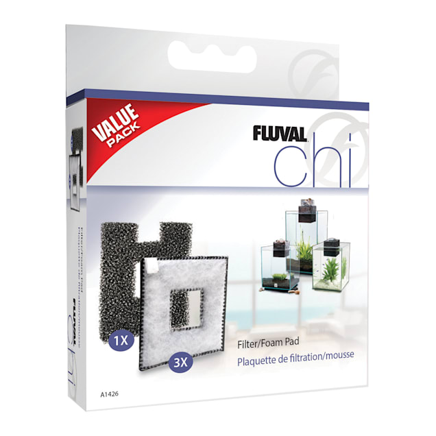 Fluval Chi Filter and Foam Pads - Carousel image #1