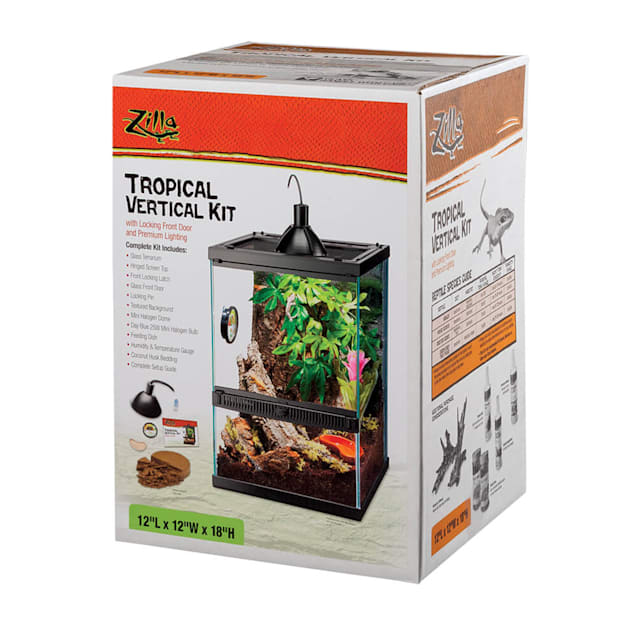 Zilla Tropical Vertical Kit, 10 Gallon - Carousel image #1