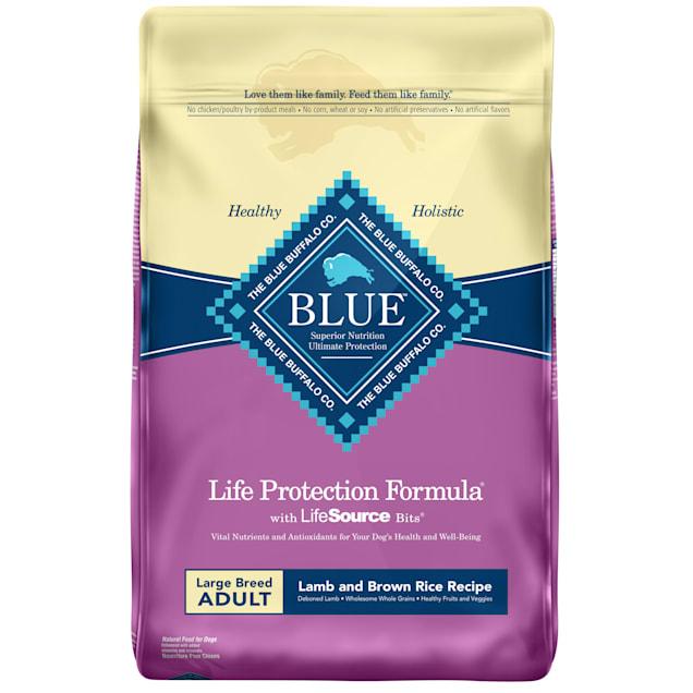 Blue Buffalo Blue Life Protection Formula Large Breed Adult Lamb & Brown Rice Recipe Dry Dog Food, 30 lbs. - Carousel image #1
