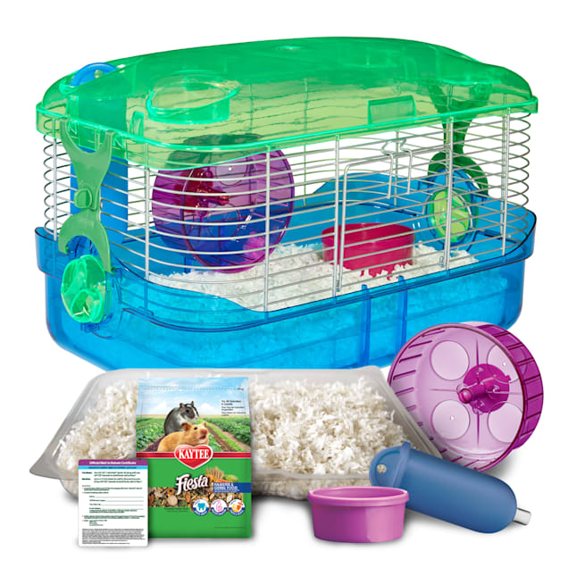 "Kaytee CritterTrail Small Animal Habitat Starter Kit, 16"" L X 10.5"" W X 10"" H - Carousel image #1"