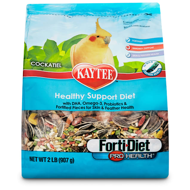 Kaytee Forti-Diet Pro Health Cockatiel Food, 2 lbs. - Carousel image #1