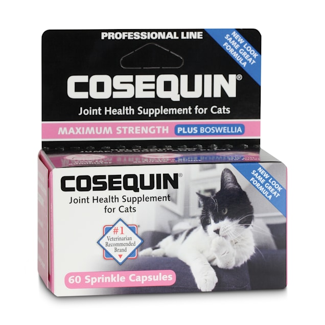 Cosequin Joint Health Plus Boswellia Cat Supplement, Pack of 60 tablets - Carousel image #1