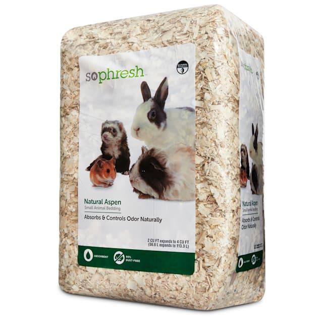 So Phresh Natural Aspen Small Animal Bedding, 56.6 Liters (3456 cu. in.) - Carousel image #1