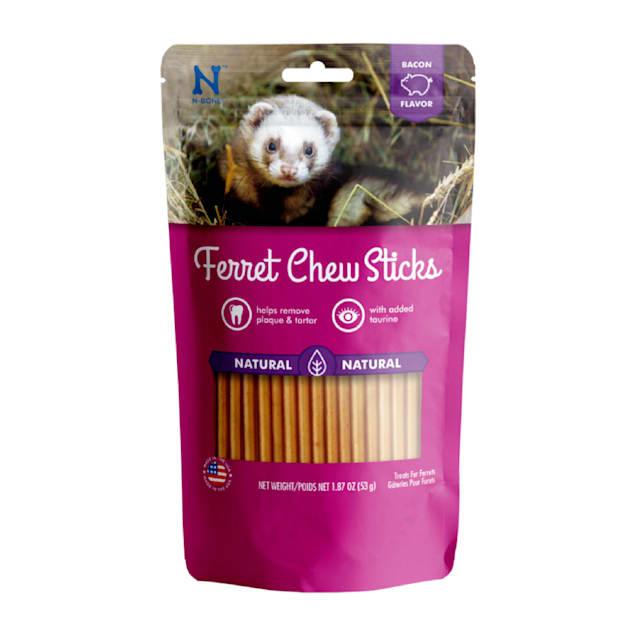 N-Bone Ferret Bacon Chew Treats, 1.87 oz. - Carousel image #1
