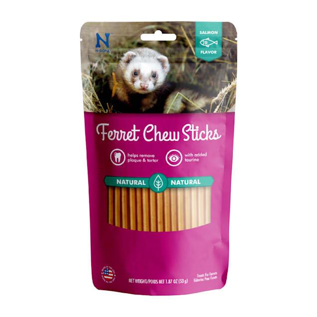 N-Bone Ferret Salmon Chew Treats, 1.87 oz. - Carousel image #1