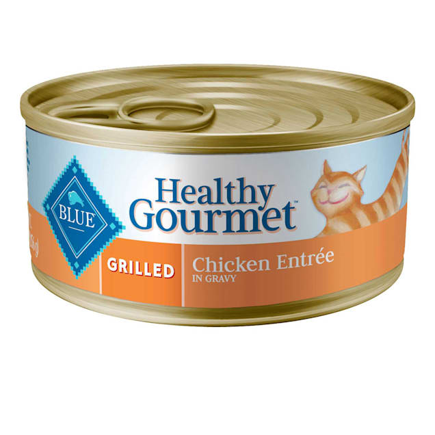 Blue Buffalo Blue Healthy Gourmet Grilled Chicken Entree Wet Cat Food, 5.5 oz. - Carousel image #1