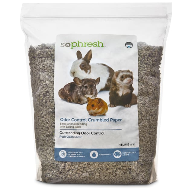 So Phresh Scented Crumbled Paper Small Animal Bedding, 10 Liters (610 cu. in.) - Carousel image #1