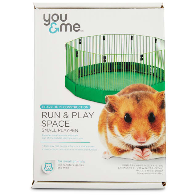 You & Me Run & Play Space Small Animal Playpen, Small - Carousel image #1