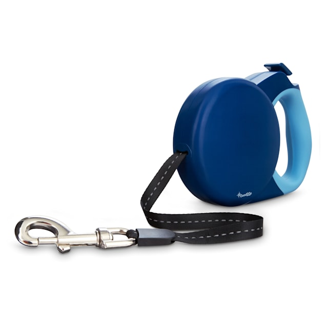 Good2Go Retractable Blue Dog Leash, Large - Carousel image #1