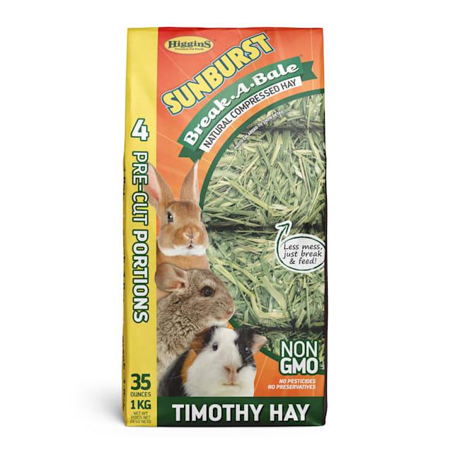 Higgins Sunburst Break-A-Bale Hay - Timothy Hay, 35 oz - Carousel image #1