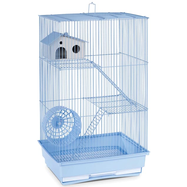 """Prevue Pet Products Three Story Light Blue Small Animal Cage, 14.5"""" L X 11.75"""" W X 22"""" H - Carousel image #1"""