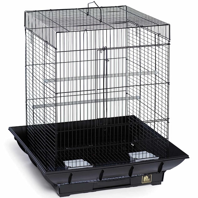 """Prevue Pet Products Clean Life Series Black Bird Cage, 18"""" L X 18"""" W X 24"""" H - Carousel image #1"""