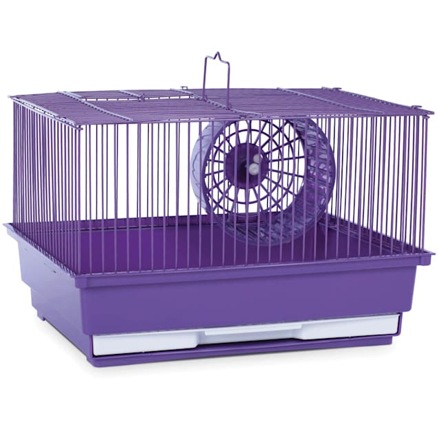 "Prevue Pet Products Single Story Purple Small Animal Cage, 14"" L X 11"" W X 8.75"" H - Carousel image #1"