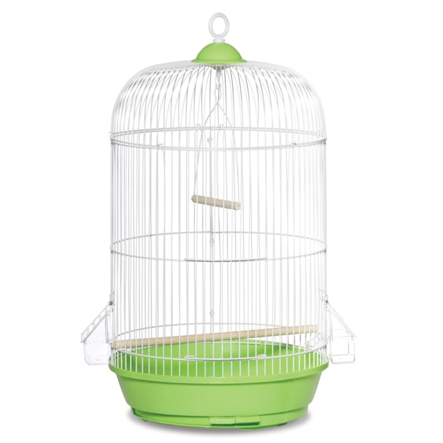"""Prevue Pet Products Classic Round Green Bird Cage, 24"""" H X 13"""" D - Carousel image #1"""