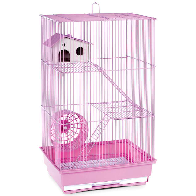 """Prevue Pet Products Three Story Lilac Small Animal Cage, 14.5"""" L X 11.75"""" W X 22"""" H - Carousel image #1"""