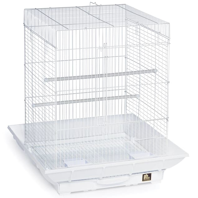 """Prevue Pet Products Clean Life Series White Bird Cage, 18"""" L X 18"""" W X 24"""" H - Carousel image #1"""