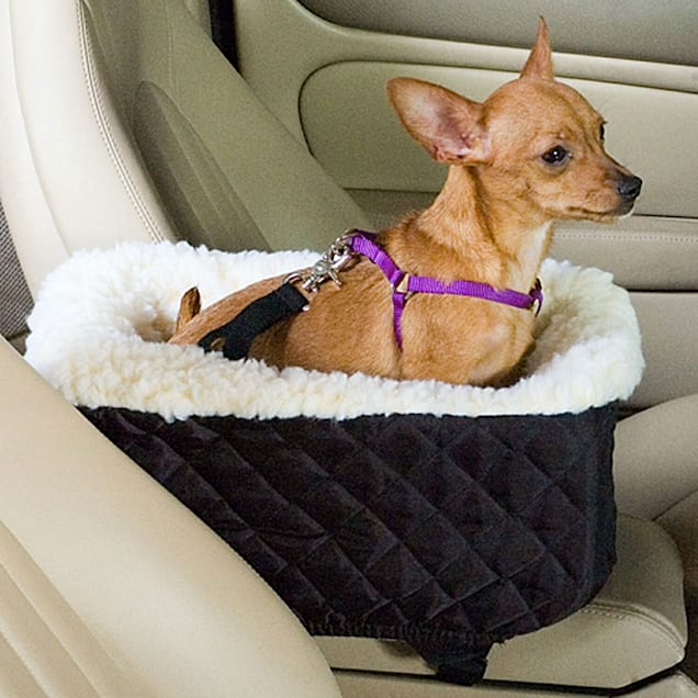 Snoozer Black Pet Car Seat Console Lookout, Small - Carousel image #1