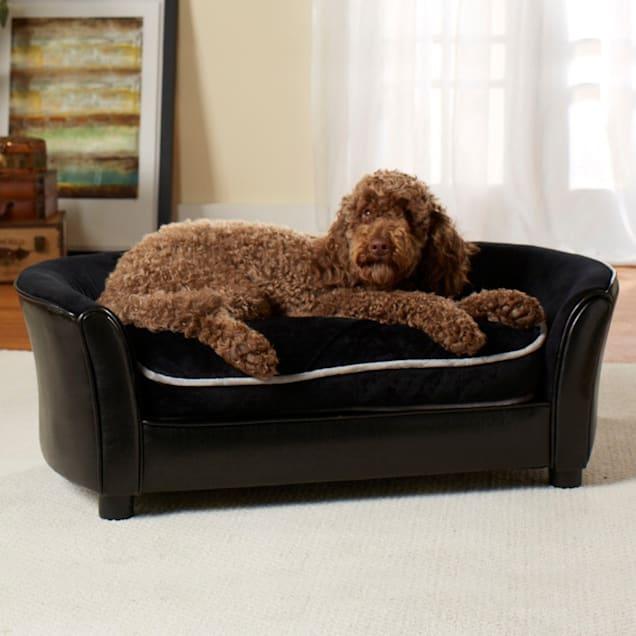 "Enchanted Home Pet Ultra Plush Panache Sofa Dog Bed, 40"" L x 24"" W - Carousel image #1"