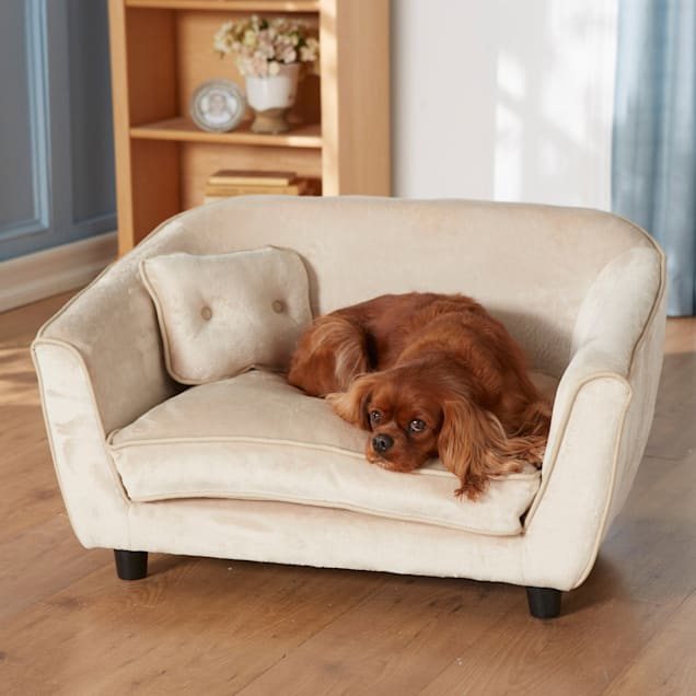 """Enchanted Home Pet Ultra Plush Astro Sofa Dog Bed, 32.5"""" L x 22.5"""" W - Carousel image #1"""
