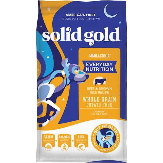 Solid Gold MMillennia Beef, Brown Rice & Peas Adult Dog Food, 28.5 lbs. - Carousel image #1