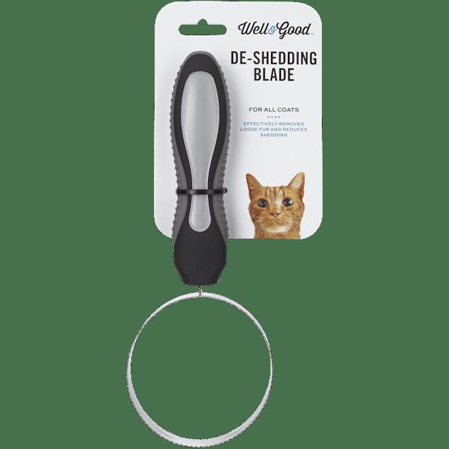 "Well & Good De-Shedding Cat Blade, 8"" L X 3"" W - Carousel image #1"
